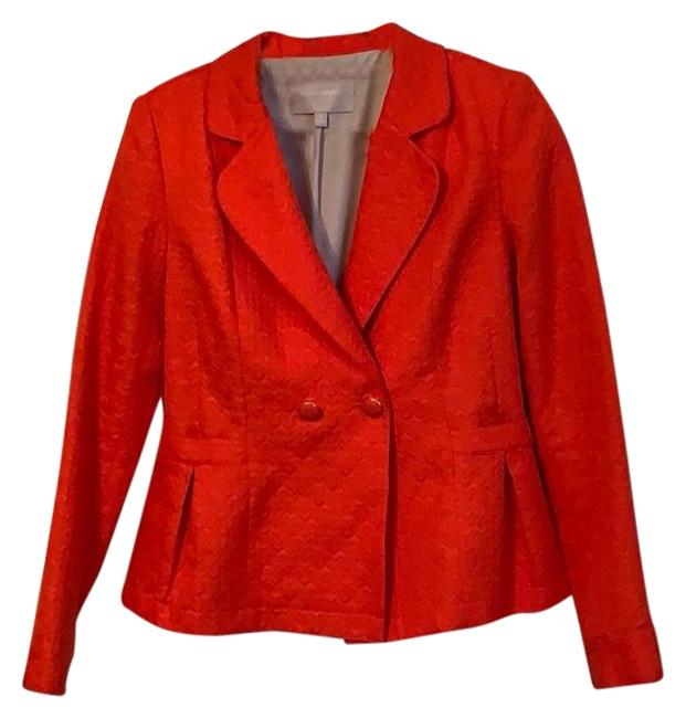 Item - Orange Textured Blazer Size 8 (M)