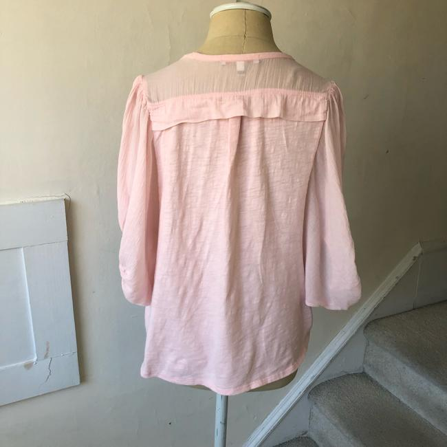 Anthropologie Top pink Image 3