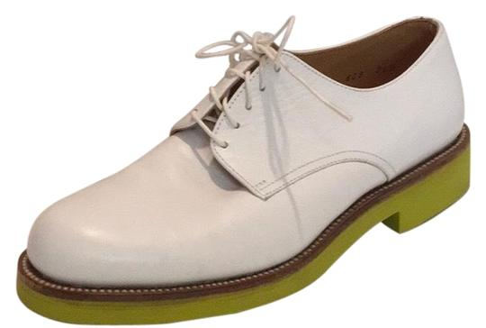 Preload https://img-static.tradesy.com/item/25018422/jil-sander-white-w-lime-green-yellow-soles-lace-up-oxford-flats-size-us-65-regular-m-b-0-1-540-540.jpg