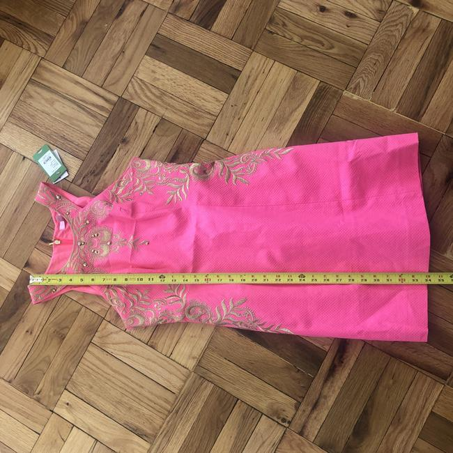 Lilly Pulitzer Embellished Embroidered Shift Halter Dress Image 3