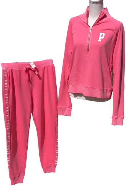 Preload https://item2.tradesy.com/images/pink-bright-classic-jogger-pants-size-4-s-27-25018451-0-1.jpg?width=400&height=650