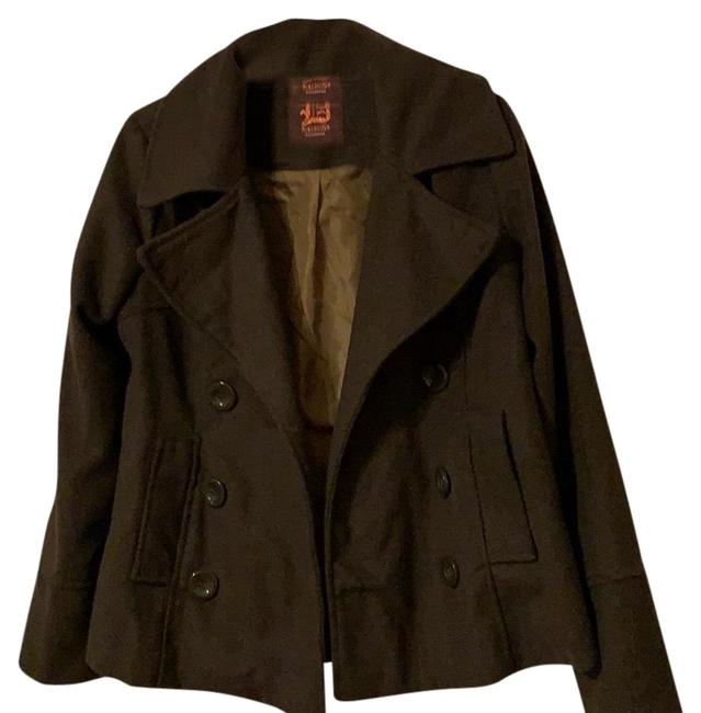 Preload https://img-static.tradesy.com/item/25018506/dollhouse-olive-green-coat-size-12-l-0-1-650-650.jpg