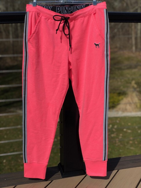 PINK Athletic Pants Neon pink Image 1