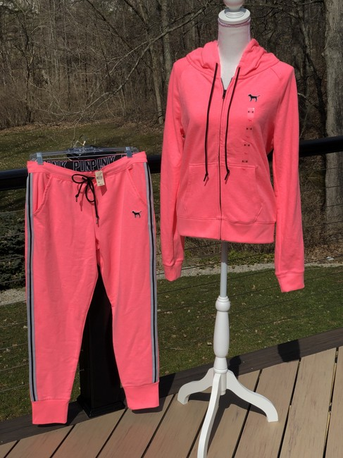 PINK Athletic Pants Neon pink Image 2