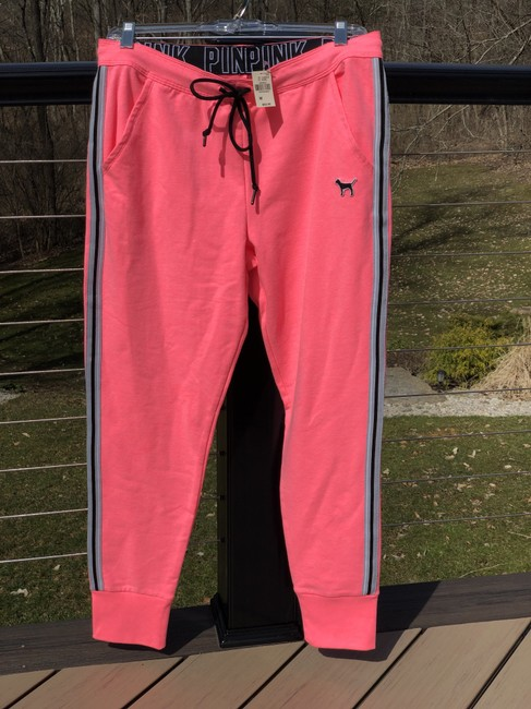 PINK Athletic Pants Neon pink Image 6