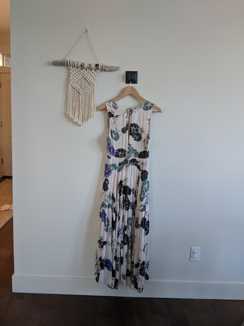 Cream Maxi Dress by Free People Sure Thing Maxi Floral Image 1