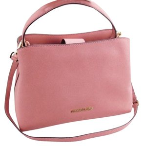 Michael Kors Portia Tote Satchel in ROSE PINK