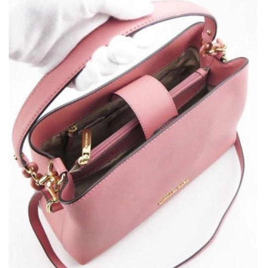 Michael Kors Portia Tote Satchel in ROSE PINK Image 1