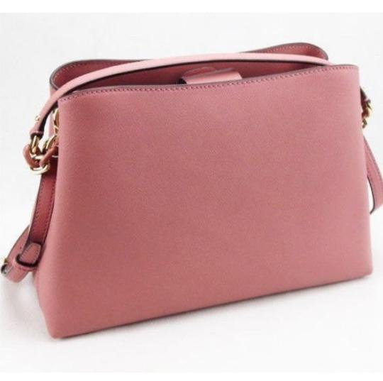 Michael Kors Portia Tote Satchel in ROSE PINK Image 2