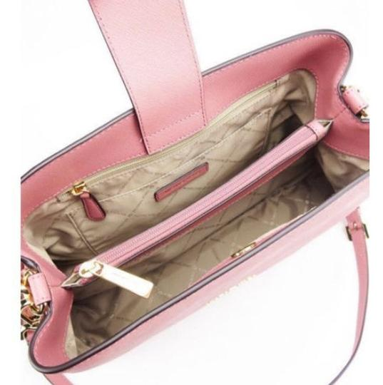 Michael Kors Portia Tote Satchel in ROSE PINK Image 6
