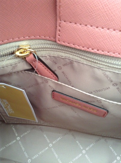 Michael Kors Portia Tote Satchel in ROSE PINK Image 8