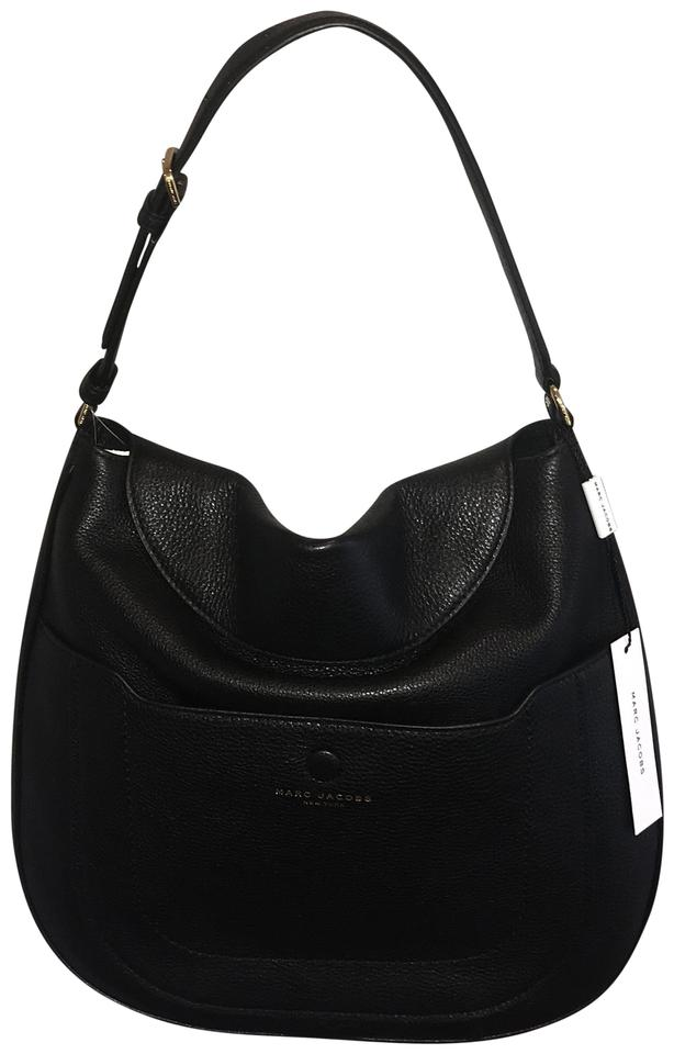 50ac7f984774 Marc Jacobs Empire City Black Leather Hobo Bag - Tradesy