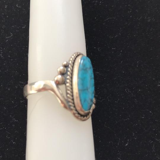 Other Navajo style turquoise ring Image 1