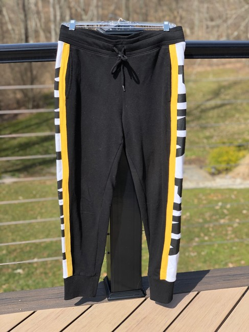 Item - Black and Yellow Logo Jogger Pants Size 8 (M, 29, 30)