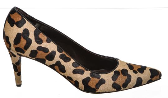 Stuart Weitzman Leopard Print Black, Tan Brown Pumps Image 2