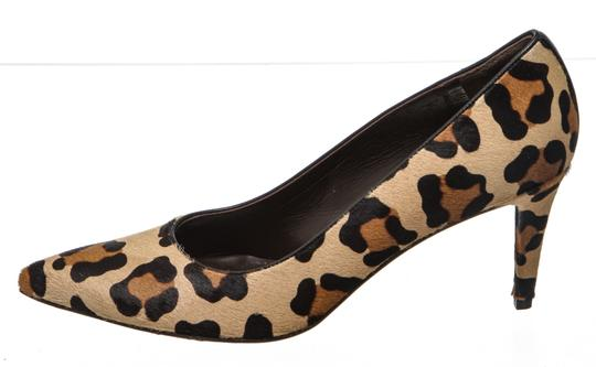 Stuart Weitzman Leopard Print Black, Tan Brown Pumps Image 3