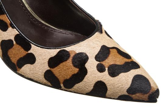 Stuart Weitzman Leopard Print Black, Tan Brown Pumps Image 6