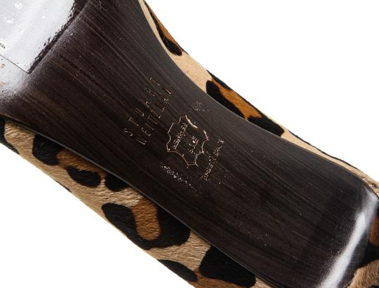 Stuart Weitzman Leopard Print Black, Tan Brown Pumps Image 9