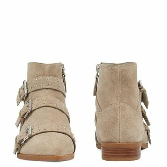 Nine West Pointed Toe Ankle Suede Taupe Boots Image 1
