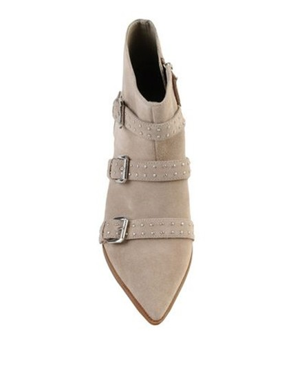 Nine West Pointed Toe Ankle Suede Taupe Boots Image 2