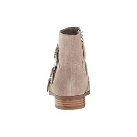 Nine West Pointed Toe Ankle Suede Taupe Boots Image 4