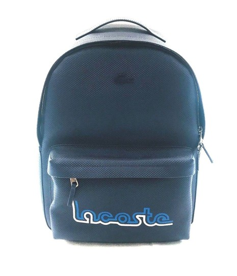 Preload https://img-static.tradesy.com/item/25018764/lacoste-new-men-s-chantaco-embroidery-coated-navy-blue-leather-backpack-0-0-540-540.jpg