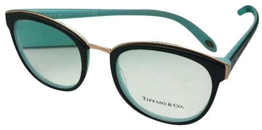4445d01677d Tiffany   Co. New Tf 2162 8055 51-20 145 Black Blue and Gold Frames ...