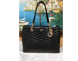Kate Spade Reese Park Small Courtnee Quilted Leather Chevron Leather Pxru9349 Shoulder Bag