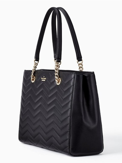 Kate Spade Reese Park Small Courtnee Quilted Leather Chevron Leather Pxru9349 Shoulder Bag Image 1