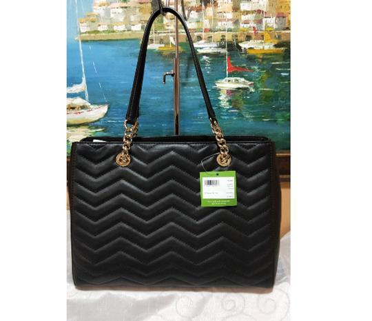 Kate Spade Reese Park Small Courtnee Quilted Leather Chevron Leather Pxru9349 Shoulder Bag Image 8