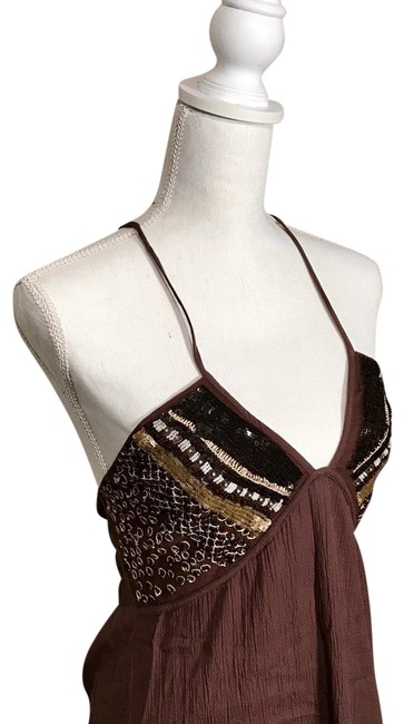 Preload https://img-static.tradesy.com/item/25019069/la-perla-brown-sequin-cover-upsarong-size-2-xs-0-1-650-650.jpg