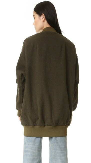 R13 Wool Bomber Flight Cape Image 1