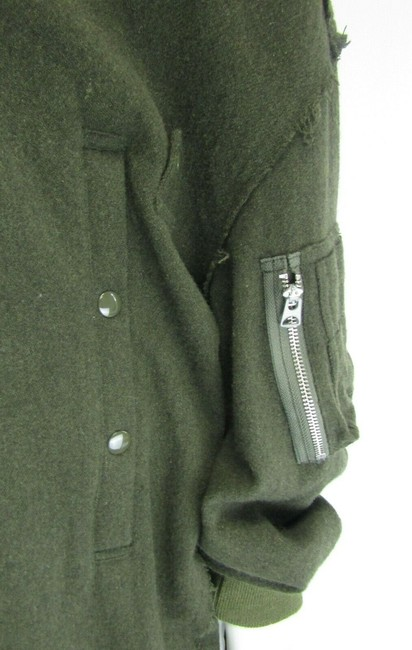 R13 Wool Bomber Flight Cape Image 10
