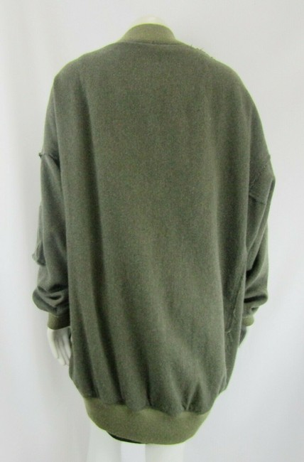 R13 Wool Bomber Flight Cape Image 4