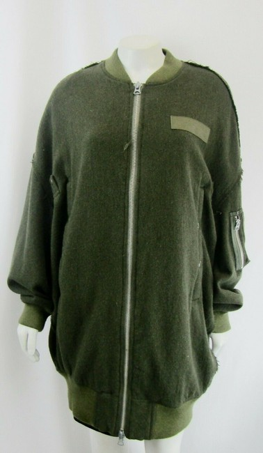 R13 Wool Bomber Flight Cape Image 6