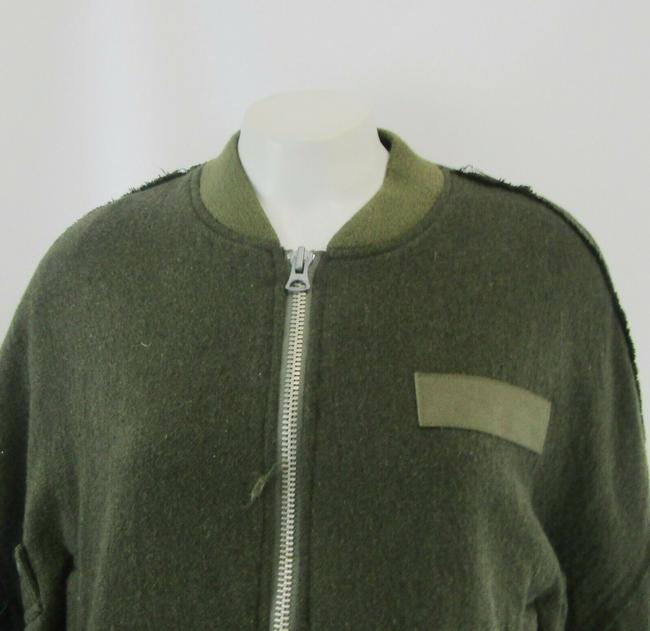 R13 Wool Bomber Flight Cape Image 7