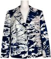 Escada Jacket Cotton Silk Blazer Image 0