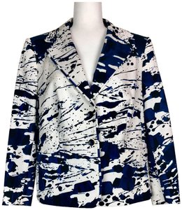 Escada Jacket Cotton Silk Blazer