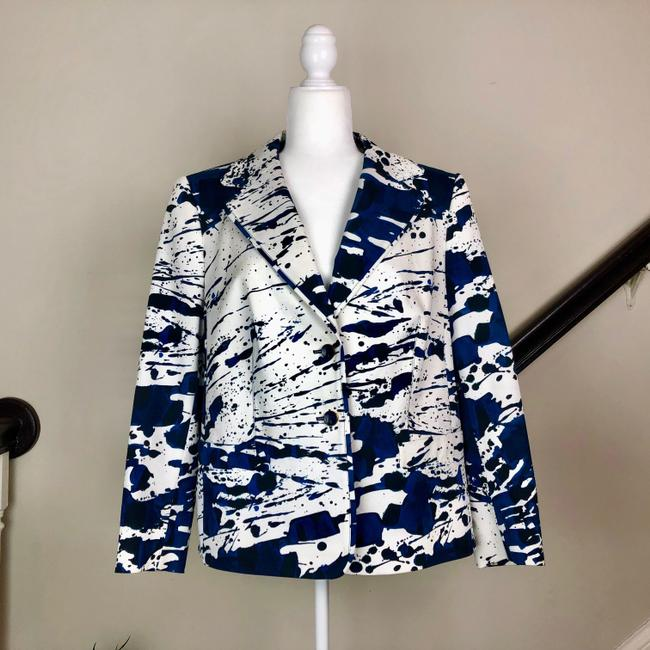 Escada Jacket Cotton Silk Blazer Image 1