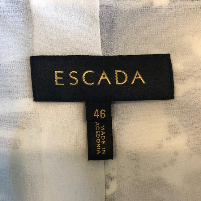 Escada Jacket Cotton Silk Blazer Image 6