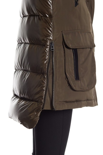10 Crosby Derek Lam Quilted Down Hooded Fur Puffer Coat Image 2