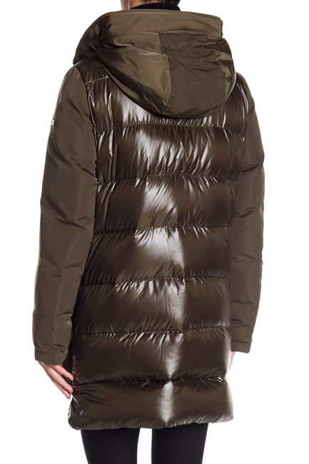 10 Crosby Derek Lam Quilted Down Hooded Fur Puffer Coat Image 3