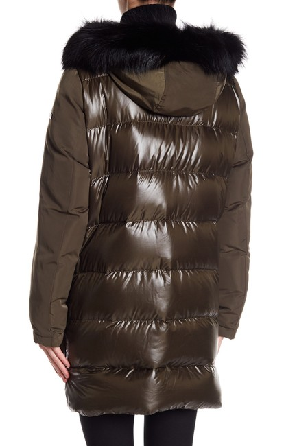 10 Crosby Derek Lam Quilted Down Hooded Fur Puffer Coat Image 4
