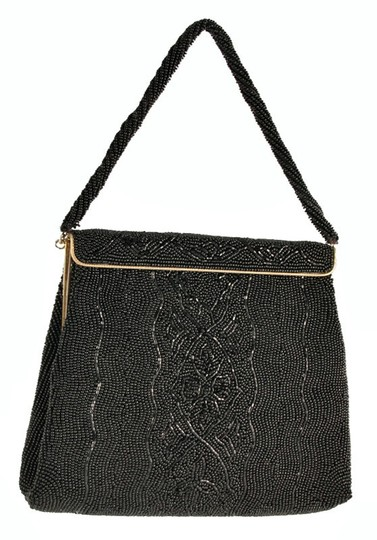 Preload https://img-static.tradesy.com/item/25019488/walborg-glass-beaded-evening-purse-black-beading-silk-satchel-0-0-540-540.jpg