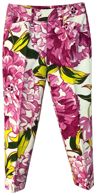 Preload https://img-static.tradesy.com/item/25019588/dolce-and-gabbana-pink-floral-print-cotton-3044-pants-size-8-m-29-30-0-1-650-650.jpg
