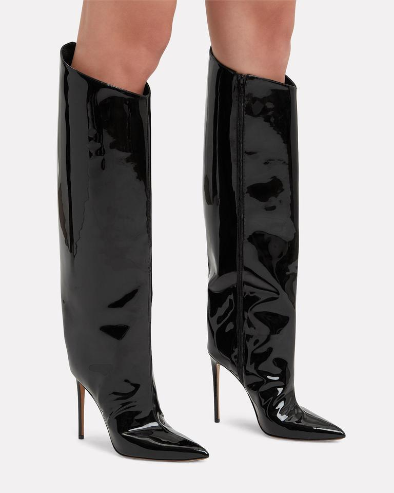 498abf44cbf Alexandre Vauthier Black Patent Alex Boots/Booties Size EU 40 (Approx. US  10) Regular (M, B) - Tradesy