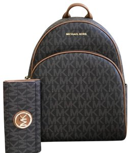 f52ae71a68cf Michael Kors Abbey Abbey Leather Jet Set Abbey Backpack