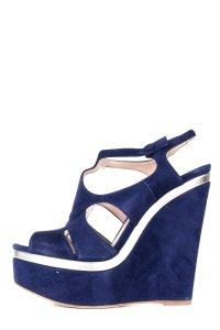 Miu Miu blue Platforms