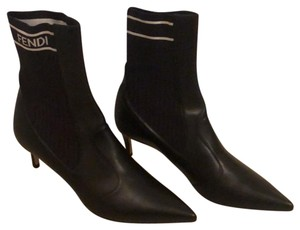 Fendi Black & White Boots