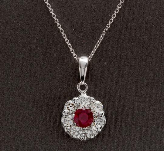 Preload https://img-static.tradesy.com/item/25020560/white-gold-115ct-natural-ruby-and-diamond-14k-solid-pendant-necklace-0-0-540-540.jpg